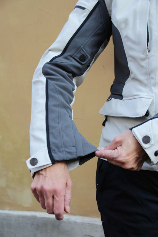 review dainese gore-tex jacket and pants review sleeve cuff