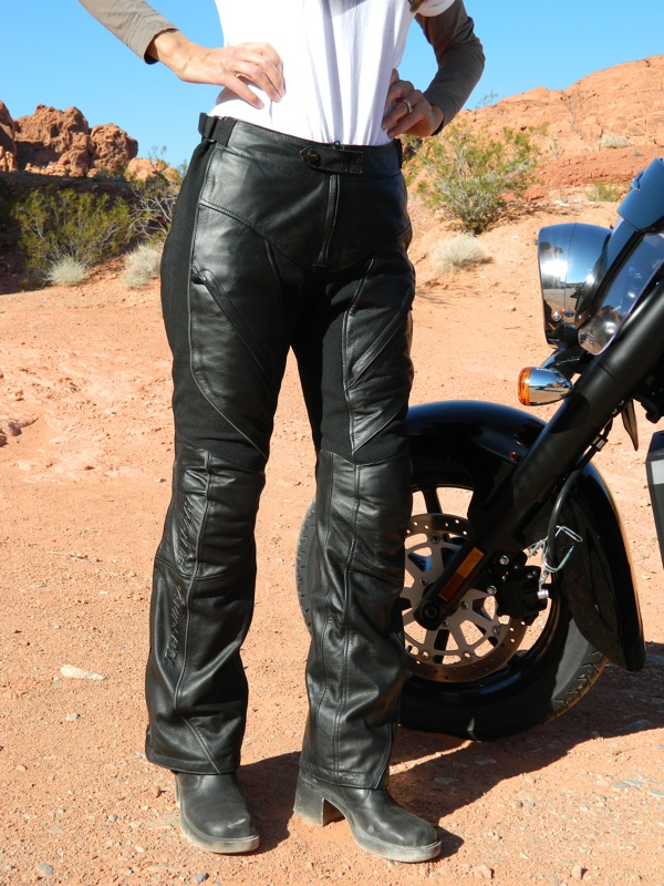 Harley-Davidson FXRG Leather Overpant Review Front