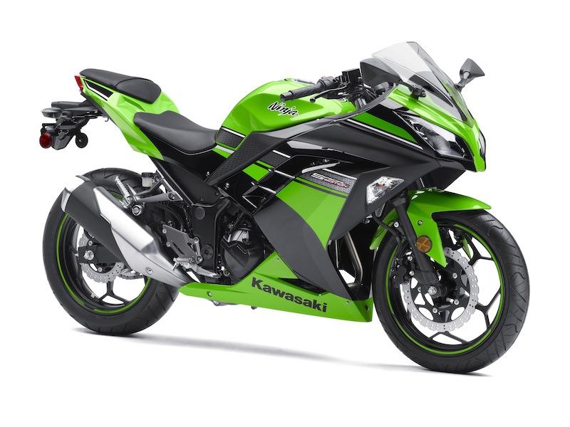Kawasaki Ninja 300 Review Green Studio