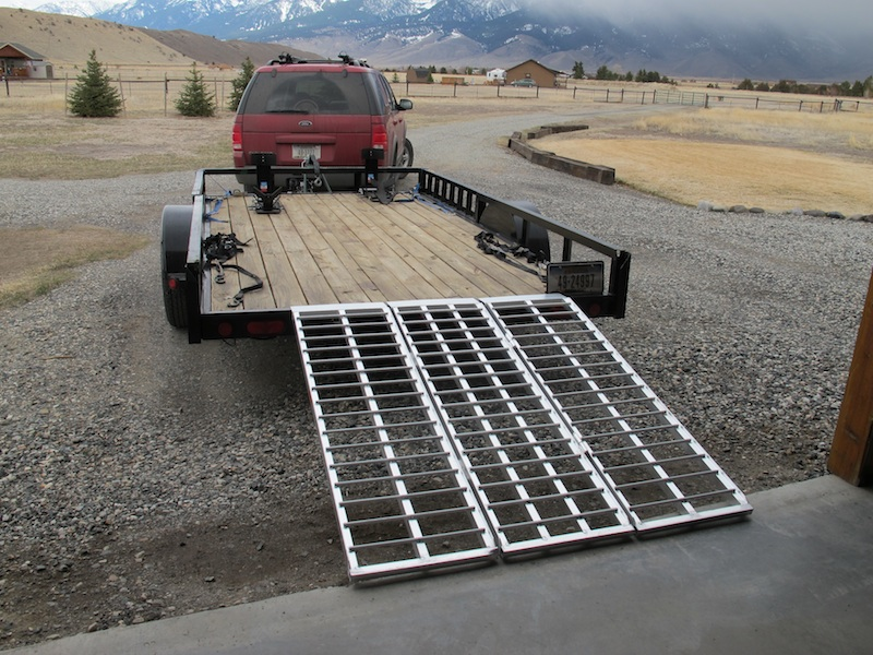 Best Motorcycle Trailer Loading Ramp Review Aluminum