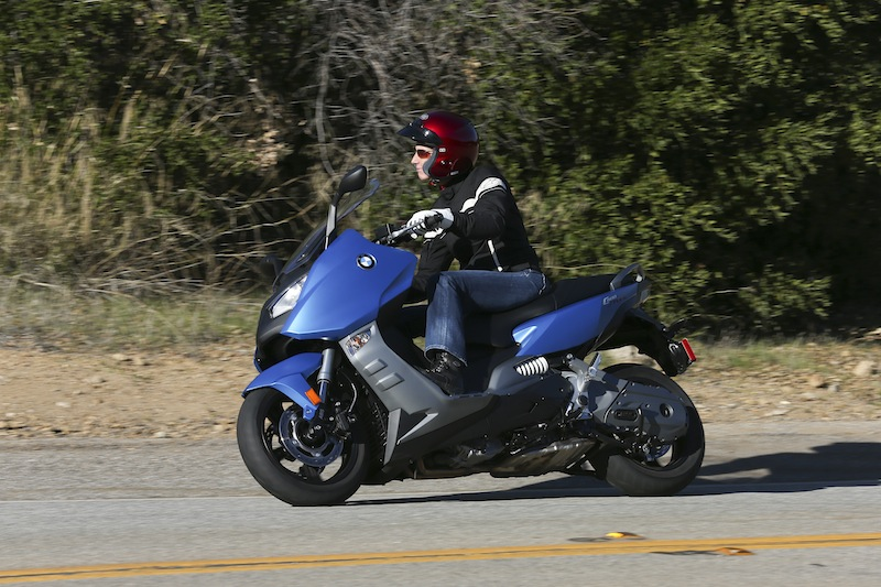 BMW C 600 Sport Test Ride