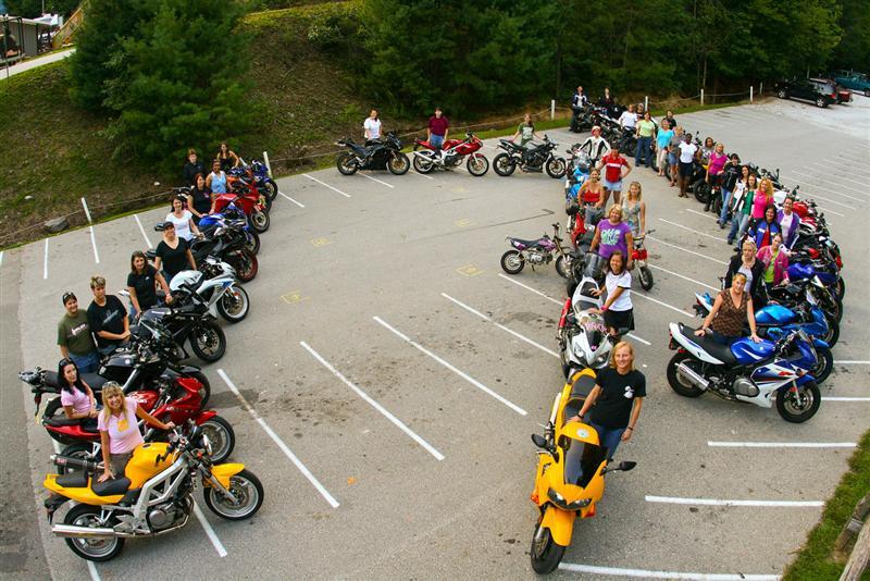 Women Rider Events Sportbike Rally