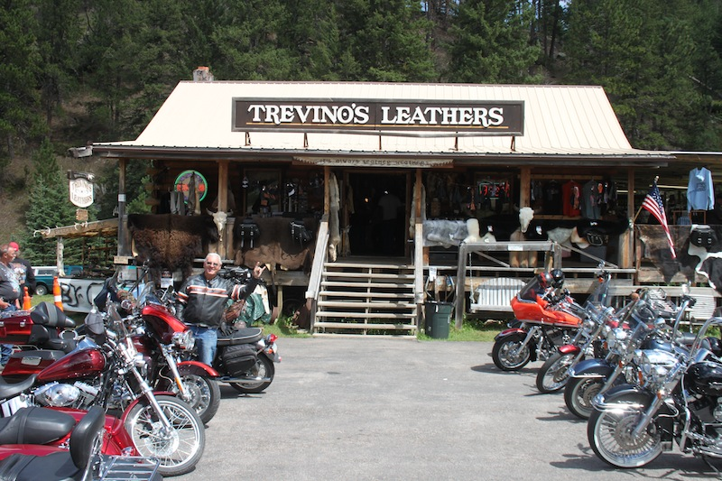 Backroads with Betsy Sturgis 2013 Trevinos Leathers