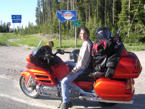 One Way to Avoid Dropping Bike Honda Gold Wing
