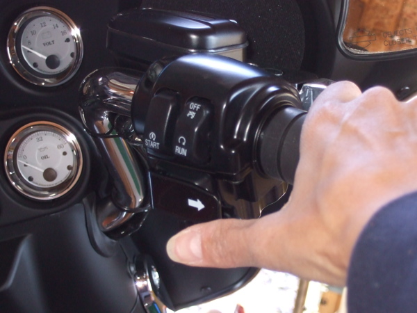 Thumbnail Extension for Small Hands Motorcycle