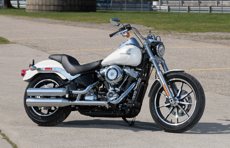 review 2018 harley-davidson softails low rider new look