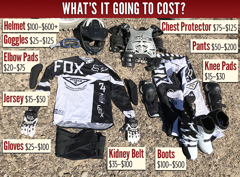 women riders basic guide to gearing up to ride a motorcycle in dirt kit