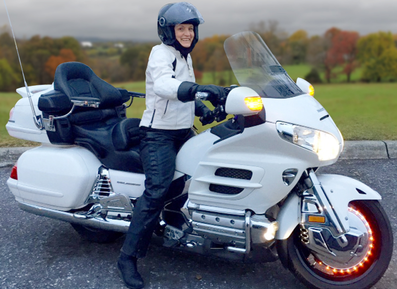 top 5 touring motorcycles women are riding now honda gold wing woman rider