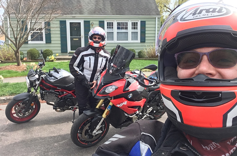 motorcycling safely in a pandemic tricia szulewski mary ohare