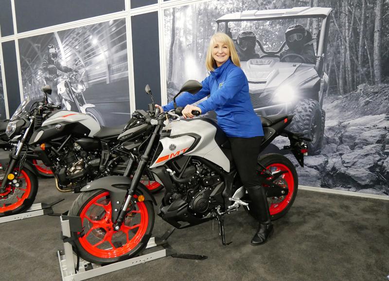Progressive International Motorcycle Show Long Beach Yamaha Kim Knupp