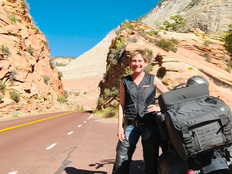 motorcycling therapy zion national park
