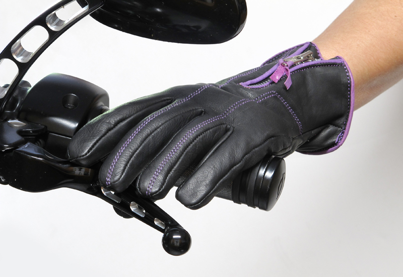 review comfortable functional inexpensive womens motorcycle gloves lightweight leather