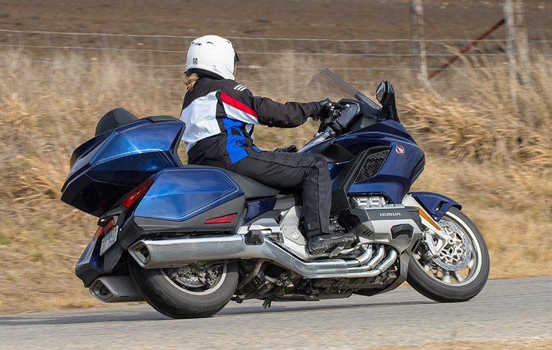 what we love about the new 2018 honda gold wing touring motorcycle tricia riding
