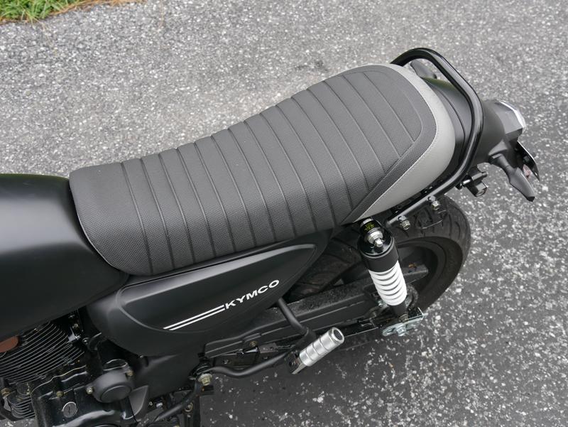 kymco spade 150 small motorcycles big fun seat