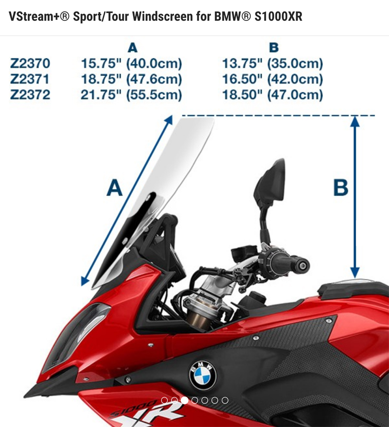 product_review_national_cycle_ZTechnic_VStream_motorcycle_windshield_ztechnic_measurements