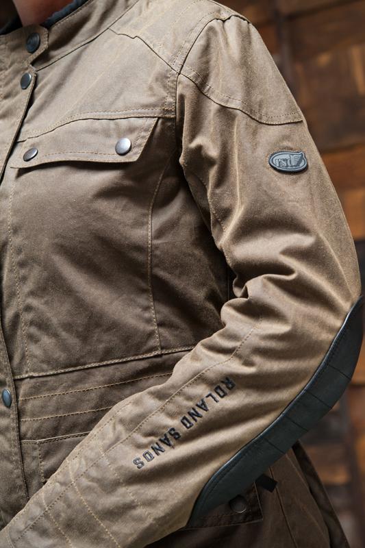 rsd ginger jacket logo branding