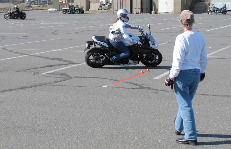 one day class for experienced riders msf advanced ridercourse counterweight
