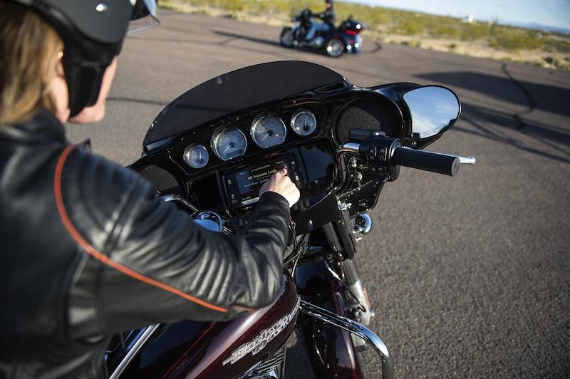 Harley-Davidson Unveils 2014 Makeovers Infotainment System