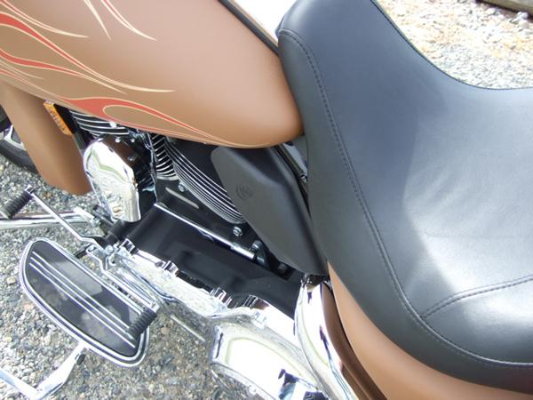 Customizing a Harley-Davidson Street Glide Heat Deflector