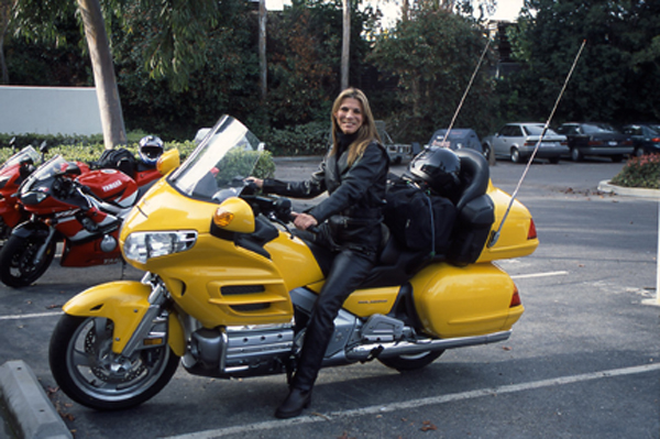 Trading Up To A Dresser Dyna Honda Gold Wing Yellow