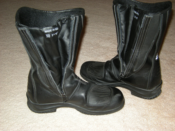 Review TCX Womens Sunray Gore-Tex Boots Gusset