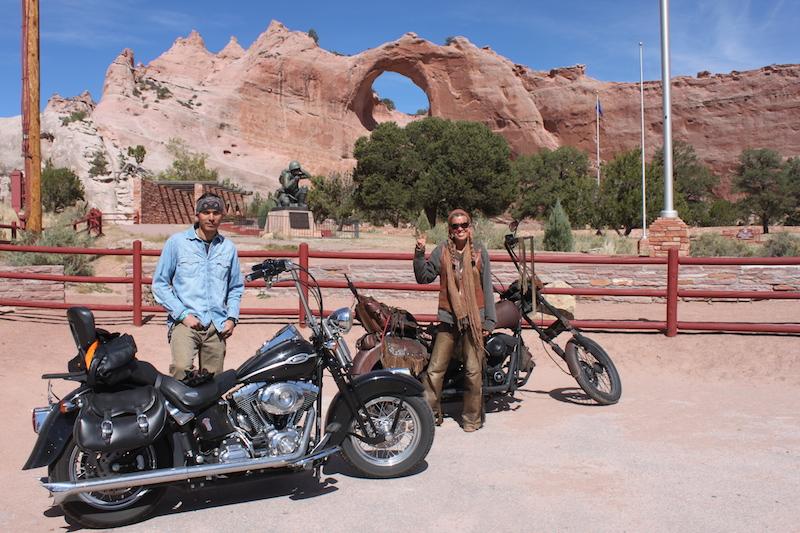 Backroads with Betsy Riding the Rez Window Rock Tribal Park Shaun Betsy