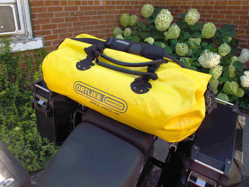 review waterproof duffle bag for motorcycle travel mounted