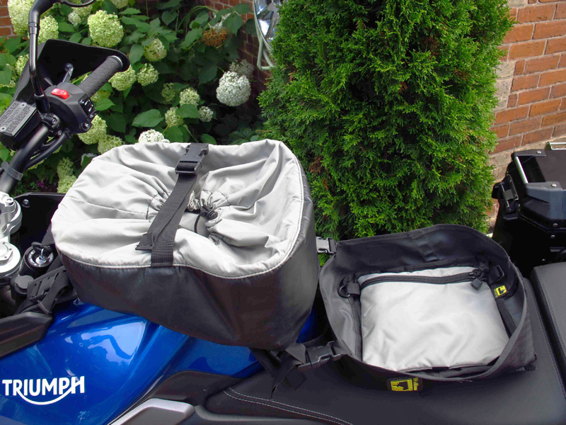 review wolfman expedition tank bag apron