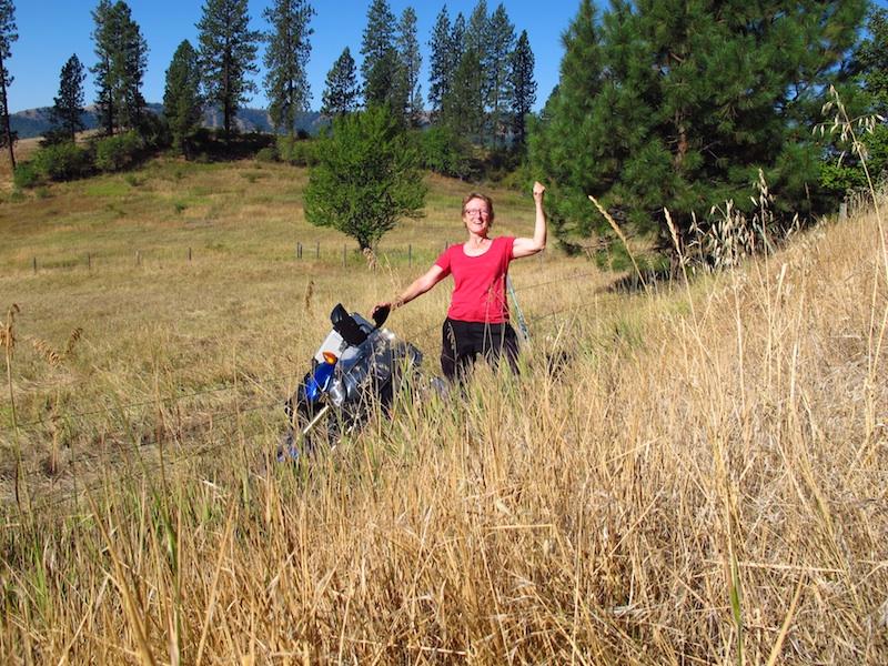 Safe Riding Motorcycle Mishap Liz Jansen Yamaha Tenere