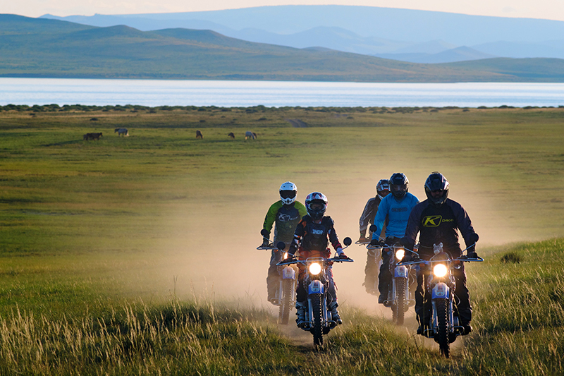 delivering yamaha dual sport bikes to save the planet mongolia