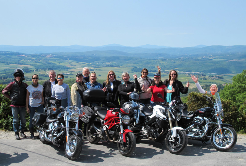postcards from italy motorcycle riding group
