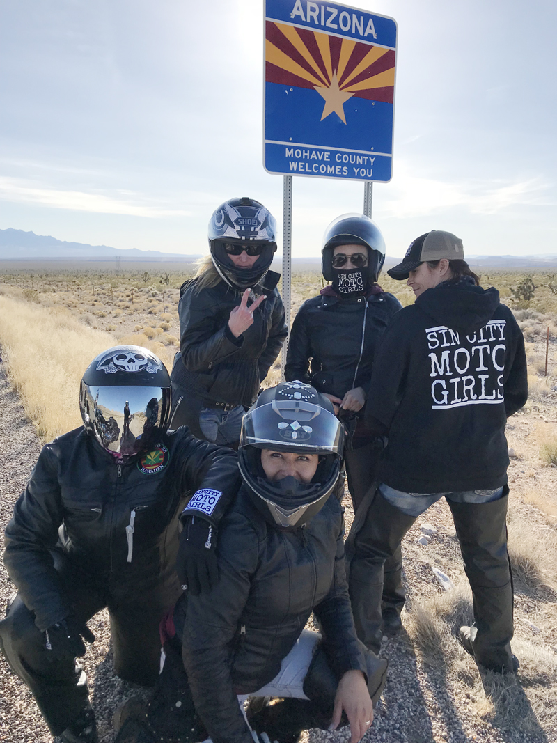 mother daughter riding motorcycles sin city moto girls