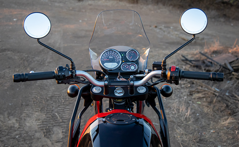 review royal enfield himalayan dual-sport windshield