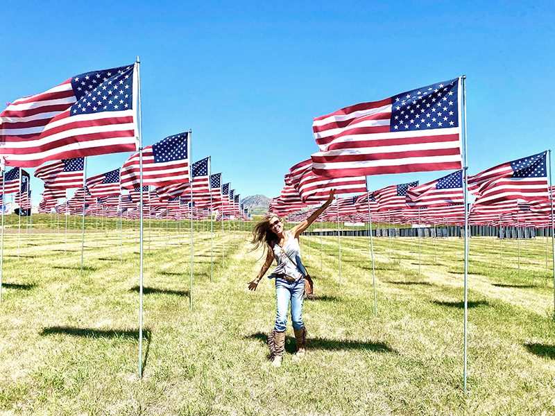 backroads with betsy 2020 sturgis motorcycle rally buffalo chip flags