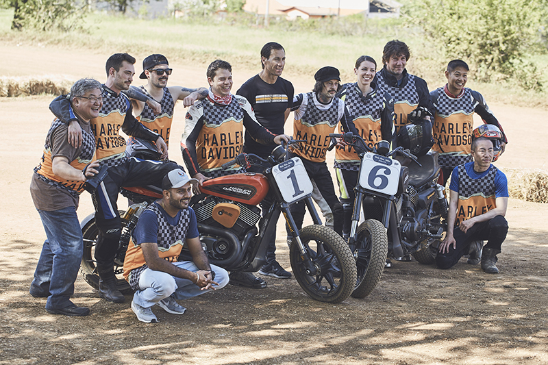 push through motorcycle comfort zone flat track racers