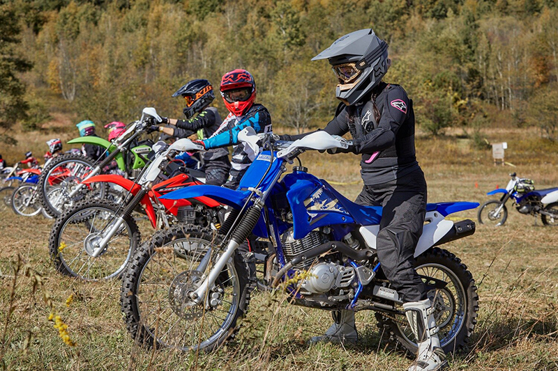 over and out moto womens off road event dirt bikes