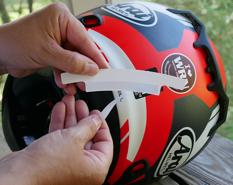 hightail bike hair protector eliminates tangles wind damage template