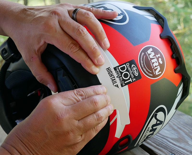 hightail bike hair protector eliminates tangles wind damage install template