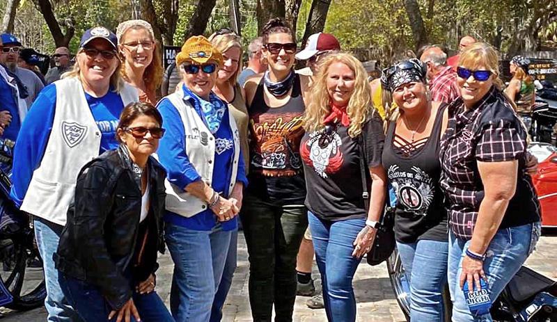 daytona bike week 2021 80th anniversary motorcycle event women riders group