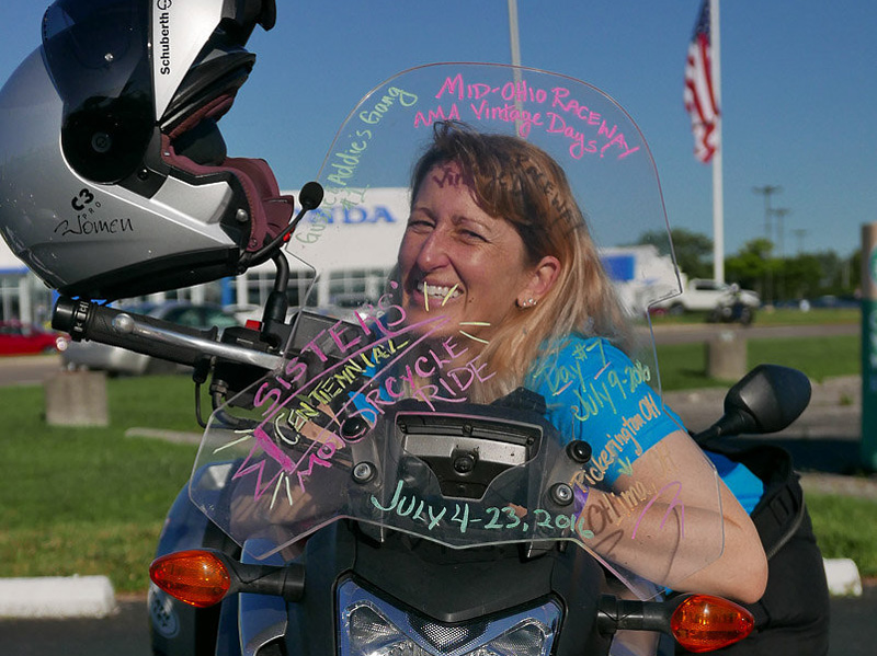 large scale womens motorcycle ride wraps up in san francisco mia waller