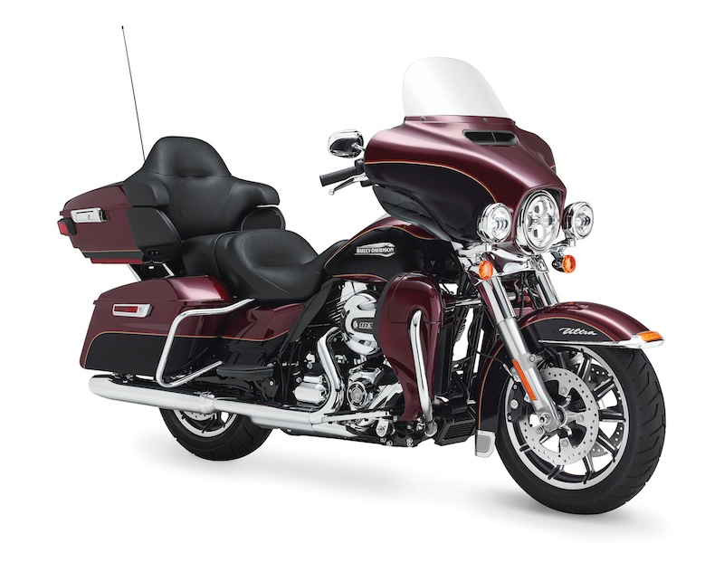 Harley-Davidson's Project RUSHMORE Electra Glide Ultra Classic Saddlebags