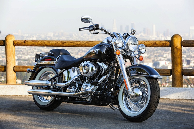 Harley-Davidson Unveils 2014 Makeovers Softail Deluxe