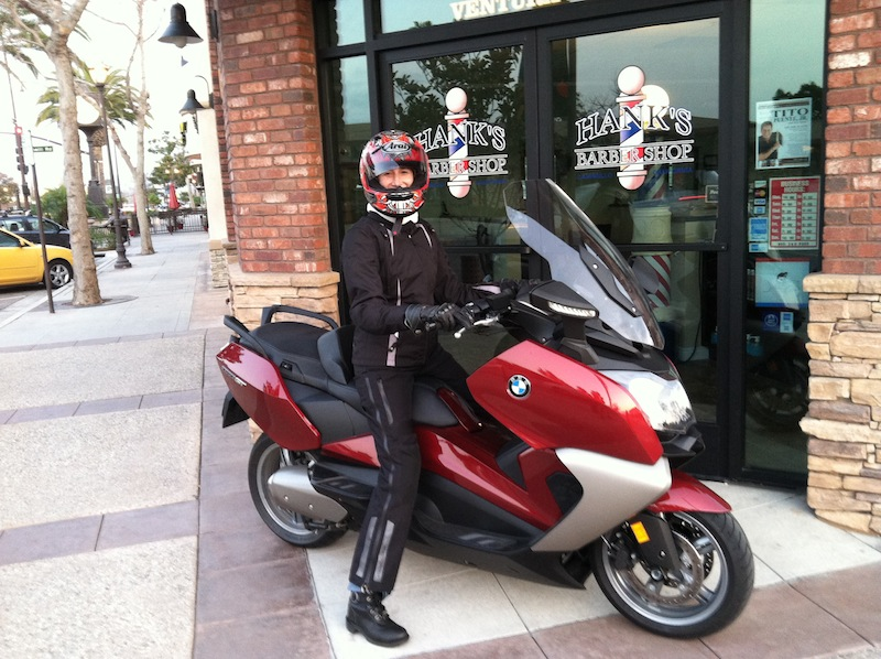 BMW C 650 GT Review Seat Height