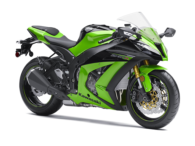 Kawasaki Ninja ZX-10R Green