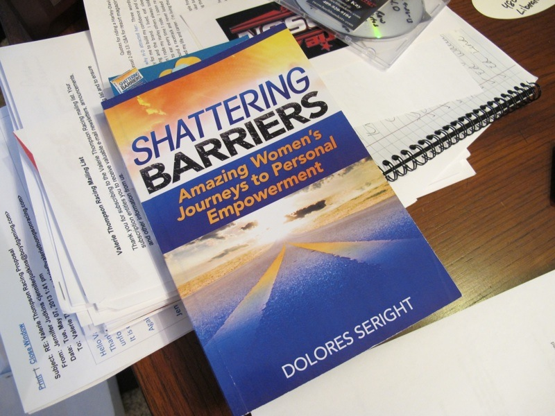 Valerie Thompson Profile Shatter Barriers Book
