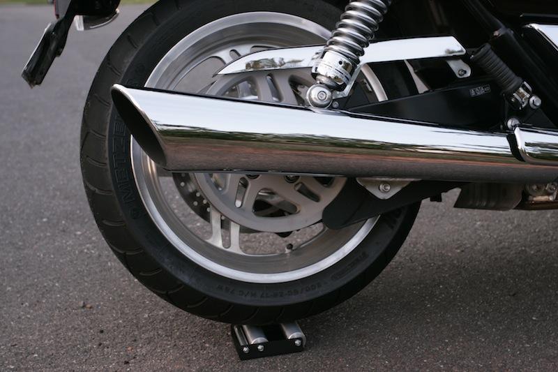 storing motorcycle for winter wheel jockey
