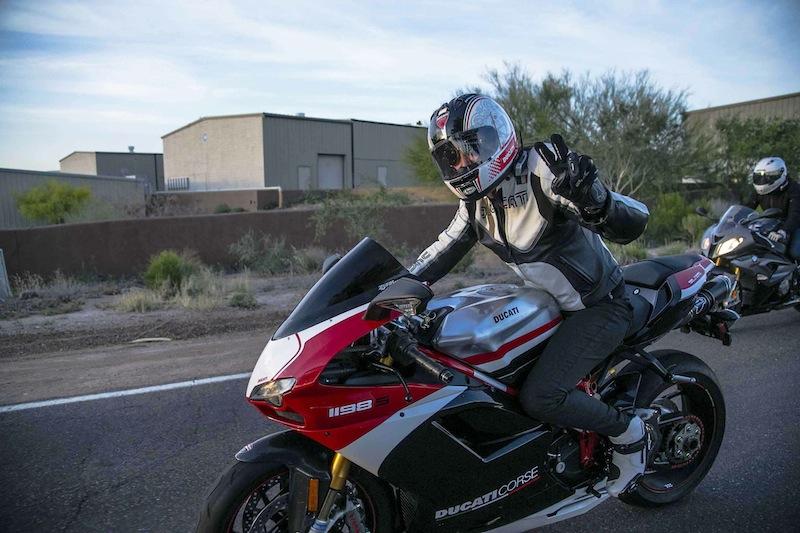 International Female Ride Day Gina Marra Ducati