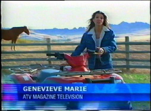Genevieve Schmitt ATV Reporting