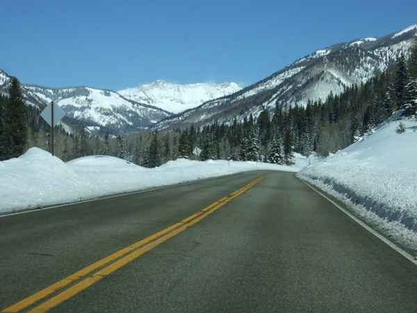 Winterize Insurance Policy snowy road