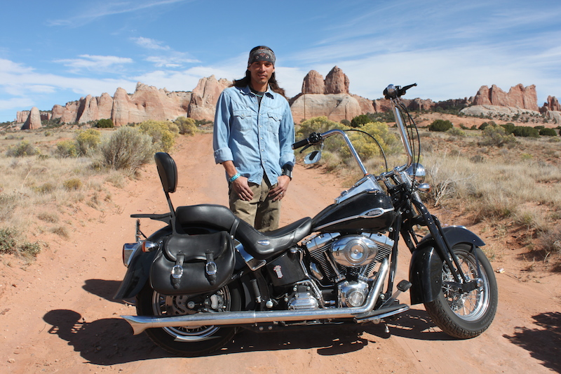 Backroads with Betsy Riding the Rez part two Shaun motorcycle